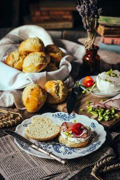 Pečivo bez droždia a kysnutia - recept od Coolinári   food blog Pretzel Bites, Ale, Tacos, Bread, Cheese, Ethnic Recipes, Food, Ale Beer, Brot