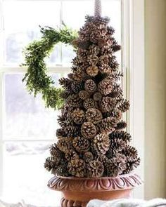 @curiouscountry posted to Instagram: Pick up a box of Ponderosa Pinecones to make your own Pinecone Christmas tree! Such a beautiful way to make natural decor for the holidays! #christmas #naturaldecor #christmasdecor #winterdecor #holidays #holidaydecor #christmas2020 #christmastree #winter #christmaseve #christmasdinner #holidaydecorating #holidaydecor #christmasdecorating #holidayhome #holidayhomedecor #december #santa #christmascountdown #christmascrafts #diychristmas #diyholiday #diycrafts