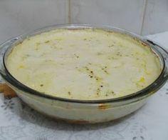 COMIDINHAS FÁCEIS: Gratinado de frango com leite de coco