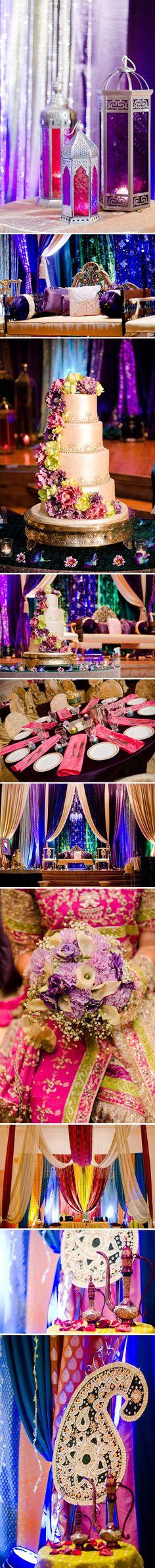 Alexandria, VA Indian Wedding by MnMfoto Desi Wedding, Wedding Stage, Our Wedding, Indian Wedding Decorations, Wedding Themes, Indian Weddings, Wedding Colors, Estilo India, Moroccan Wedding