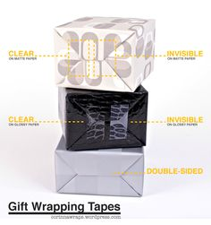 Best Tapes for Gift Wrapping - Gift Wrapping Ideas | Creative Gift Wrapping | The Gifted Blog