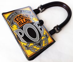 Edgar Allan Poe Recycled Book Purse  Tales of by NovelCreations, $55.00