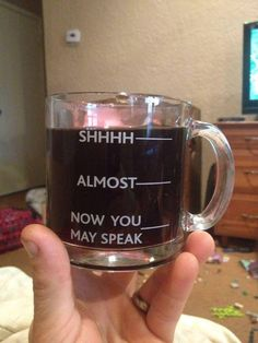 I have found my mug!