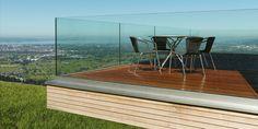 Bildergebnis für nurglasgeländer Outdoor Furniture Sets, Outdoor Decor, Home Decor, Decoration Home, Room Decor, Home Interior Design, Home Decoration, Interior Design