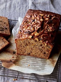 Banana bread is the perfect thing to have on standby. Serve it to guests who pop in, pack it into the kids' lunches, or treat yourself to a slice as a snack with a cup of tea. This one is full of walnuts to give it an extra burst of toasty flavour. Banana Walnut Bread, Banana Bread Recipes, Curtis Stone Recipes, Filling Food, Australian Food, Ice Cream Recipes, Bread Baking, Yummy Cakes, Just Desserts