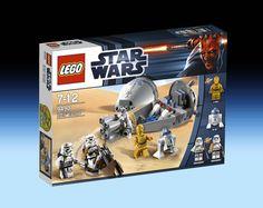 9490 Droid Escape (2012) - 137 pieces, 4 mini-figures.