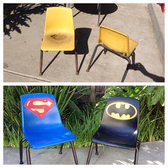 Superhero chairs