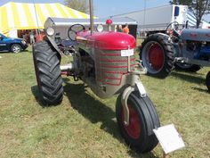 Red Silver King tractor with Ford V-8 engine