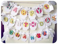 Birthday Banner Customization by MyPaperCrafting on Etsy, $3.00