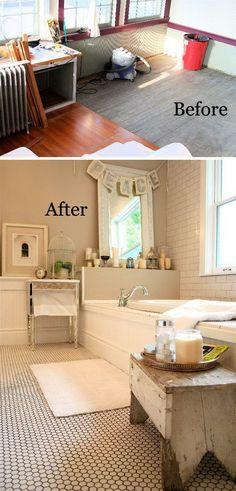 Elegant Staging A Small Bathroom