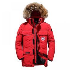 Winter Men Fashion Thick Warm Jacket - Duck Down Coats Waterproof Jackets Mens Down Jacket, Jacket Men, Outdoor Coats, White Ducks, Latest T Shirt, Jacket Style, Winter Jackets, Men Casual, Mens Fashion