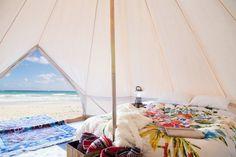 Tenda areia colorida Estilo Vintage Sino 16,5 pés por StoutTent