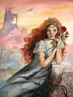 Princess Red by Kajsa Flingling Flinkfeldt