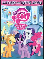 Join Twilight Sparkle and her best pony pals as they explore one of the most beautiful places in Equestria. In the Crystal Empire, Twilight must find out if there is a spy in the empire. She also dedicates herself to helping a reformed pony learn the magic of friendship. Meanwhile, the Mane Six will work together to ensure a ceremony for Cadences and Shining Armor's new baby goes as planned. With the power of friendship, there is nothing the ponies can't do!