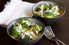 Une recette inratable de Quinoa et brocolis, sauce chèvre et noisettes Thermomix sur Yummix • Le blog de recettes gourmandes et saines dédié au Thermomix !