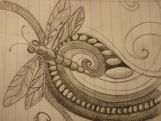 dragonfly doodle - Google Search