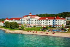 This is the Inn at Bay Harbor in Petoskey, MI. I created some of my favorite memories here.
