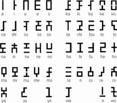 hylian alphabet. Great ideas for this coming soon.