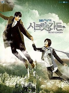 """Secret Garden ♥ Ha Ji Won as Gil Ra Im ♥ Hyun Bin as Kim Joo Won ♥ Yoon Sang Hyun as Oska ♥ Kim Sa-rang as Yoon Seul ♥ Lee Jong Suk as Han Tae Sun ♥ Yoo In-na as Im Ah Young ♥ Lee Philip as Director Im Jong Soo ♥ A modern day fairy tale loosely based on """"The Little Mermaid."""" The male lead is a hotel executive who can't understand his fascination for a lowly stunt woman. The fun begins when they inexplicably begin to switch bodies every time it rains."""