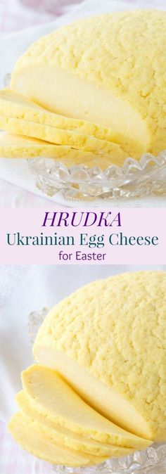Hrudka - Ukrainian Egg Cheese for Easter - Cupcakes & Kale Chips Hrudka - my generations old family recipe for the traditional Ukrainian Egg Cheese for Easter Slovak Recipes, Ukrainian Recipes, Russian Recipes, Ukrainian Food, Russian Foods, Hungarian Recipes, Ukrainian Paska Recipe, Czech Recipes, German Recipes