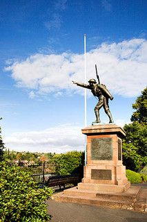War Memorial in the castle Grounds Bridgnorth Shropshire England War Memorials, Lest We Forget, West Midlands, Sunderland, Statues, Statue Of Liberty, Cities, Places To Visit, Photographs