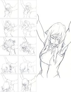 """ MD: Throughout Book Three, Korra had not used the Avatar state. Even when the metal poison threatens to kill her, Korra tries to fight off the Avatar state, knowing if Zaheer kills her while she's. Body Drawing, Drawing Base, Manga Drawing, Figure Drawing, Animation Storyboard, Animation Reference, Drawing Reference Poses, Anatomy Sketches, Anatomy Drawing"