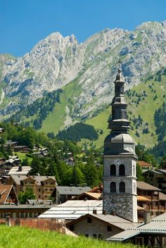 La Clusaz in the French Alps. My friend and I went there in 2003 to visit friends who live there. The Places Youll Go, Places To See, Lake Annecy, Stations De Ski, Ville France, French Alps, Beautiful Places In The World, France Travel, Camping