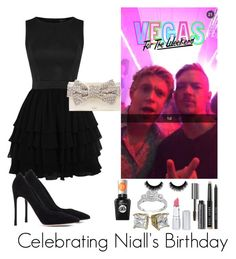 """""""Celebrating Niall's 22nd Birthday"""" by marbear263 ❤ liked on Polyvore featuring Gianvito Rossi, Kate Spade, Bobbi Brown Cosmetics, HoneyBee Gardens, Sally Hansen, women's clothing, women's fashion, women, female and woman"""