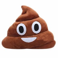 Etosell Emoji Poop Shaped Stuffed Pillow Cushion Smiley Face Doll Toy