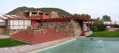 Taliesin West in Scottsdale, Ariz., Frank Lloyd Wright's winter home and studio (where he lived from 1937 until his death in 1959), sits at the foothills of the McDowell Mountains in the Sonora Desert.