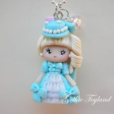 Kawaii Cuties Sweet  Polymer Clay Pendant by GothicToyland on Etsy, €15.00