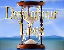 days of our lives....haven't watched faithfully in a while, but for a good 25 years of my life I lived for an hour every day in Salem....