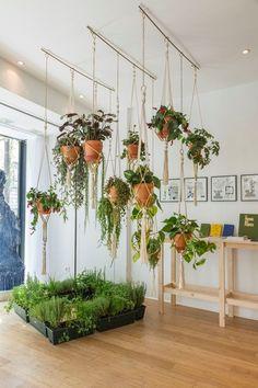 Homemade flower pots – a guide and other DIY ideas - House Plants Vertical Garden Design, Vertical Gardens, Small Gardens, Plantas Indoor, Decoration Plante, Diy Decoration, Deco Floral, Diy Planters, Planter Ideas