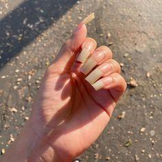 Long Natural Nails, Sexy Nails, Perfect Nails, Nail Inspo, Beautiful Hands, Instagram, Natural Nails, Nail Design, Long Nails