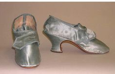Shoes, 1760-79, Europe.