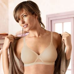 86cf29506e Playtex Cross your Heart lightly padded microfibre soft cup bra