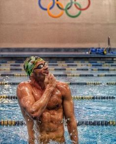 Ryan Lochte is back in his Speedo and ready for the 2016 Summer Olympic Games in Rio de Janeiro, Brazil. The Olympic medalist, who's been hard at work Swimming Body, I Love Swimming, Swimming Diving, Scuba Diving, Swimming Drills, Competitive Swimming, Olympic Swimmers, Olympic Athletes, Michael Phelps