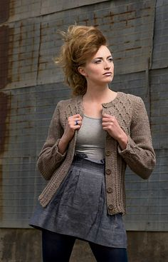 Ravelry: Dauphine Cardigan pattern by Julia Farwell-Clay
