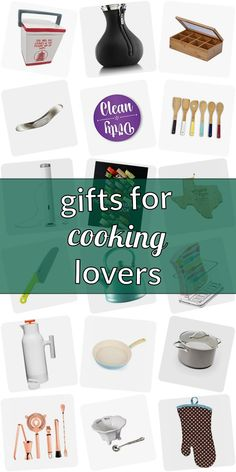 Your good friend is a impassioned cooking lover and you love to give her a cool gift? But what do you choose for home cooks? Unique kitchen helpers are never wrong.  Exceptional gift ideas for food, drinks. Gagdets that please cooking lovers.  Let's get inspired and spot a perfect giveaway for home cooks. #giftsforcookinglovers