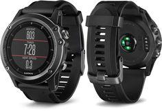 Garmin Fenix 3 Wrist HR GPS Multisport Watch - Sapphire