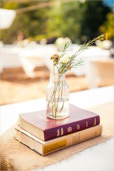 simple table decor ideas / Delightfully Simple Wedding  | Paso Robles, CA