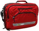 "BlackWolf Skedaddle 17"" Laptop Briefcase/Backpack Chilli SKED.  All carry on."