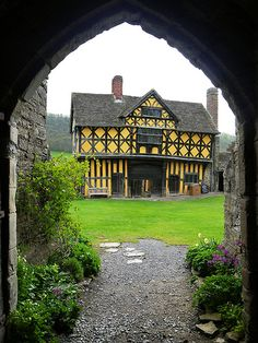 The Tudor Gatehouse From Stokesay Castle, Shropshire, England | by Louise and Colin