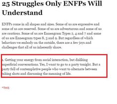ENFP with  2w3..
