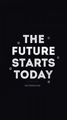 The Future Starts Today http://theiphonewalls.com/the-future-starts-today/