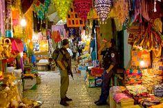 markets in Jerusalem inside the old city