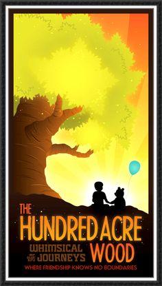 Disney art poster - Winnie the Pooh
