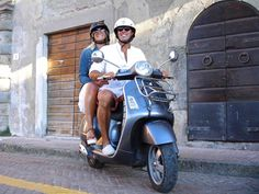 On the Road with Vespa