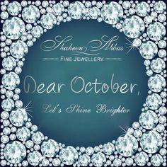 Dear October, rise & shine!