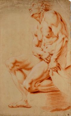 Without hope, Without fear --Nota Bene-- The paintings, drawings, and works of art that appear below are of only the highest quality and deemed to be of exceptional taste. Guy Drawing, Life Drawing, Figure Drawing, Drawing Reference, Drawing Studies, Male Form, 18th Century, Nude, Statue